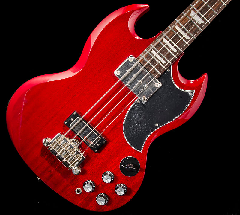 epiphone eb 3 sg style bass guitar 2016 cherry geartrader57 reverb. Black Bedroom Furniture Sets. Home Design Ideas