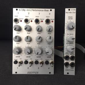 Doepfer A-138p / A-138o Performance Mixer Input and Output