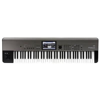 Korg KROME EX 73 73-Key Music Workstation Semi-Weighted Keyboard