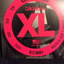 D'Addario D'Addario ECB81 Chromes Bass Strings Light 45-100 Long Scale