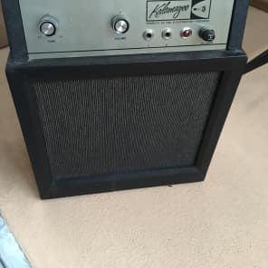 Old Kalamazoo solid state amp Model 3 1960's  Blue for sale