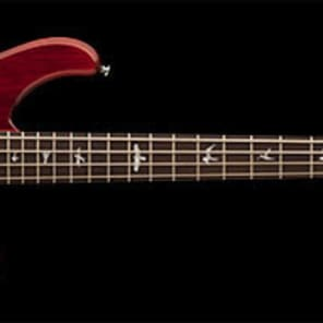 PRS SE Kingfisher 4 String Bass Scarlett Red for sale