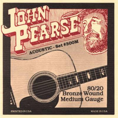 John Pearse 300 M   Corde Per Chitarra Acustica   80/20 Bronze Wound