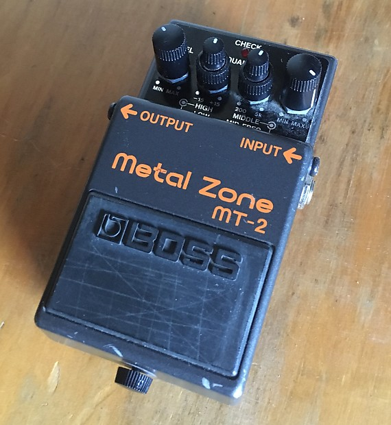 Classic Boss Metal Zone Hm 2 1995 Black Metal Sound Of A Reverb