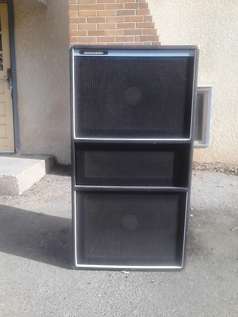Acoustic Control Corp 408 4x15 bass cabinet   Reverb