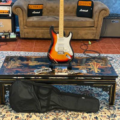 Ashton  AG232M Guitar Pack 3 Tone Sunburst for sale