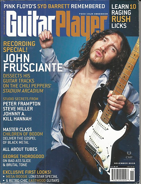 Guitar Player-Magazine, November 2006 | Music Solutions LLC