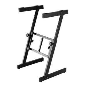On-Stage KS7350 Pro Heavy-Duty Folding Z-Stand Keyboard Stand