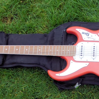 Burns Barracuda Red (Guards) Bass Vi Baritone for sale