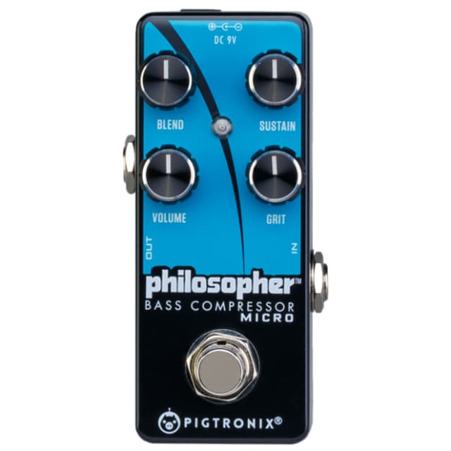 Pigtronix Philospher Bass Compressor Micro Pedal image