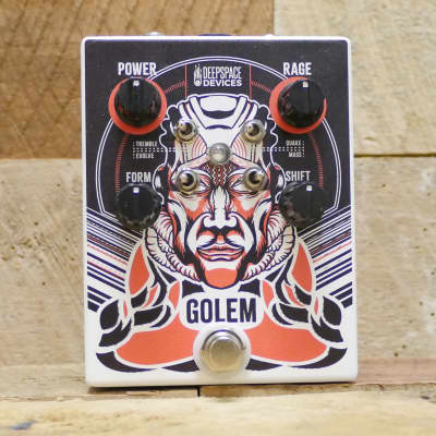Deep Space Devices Golem Overdrive 2018 (White with Orange Graphics)