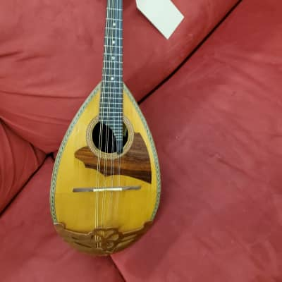 Crestwood Bowl back Mandolin  Natural for sale