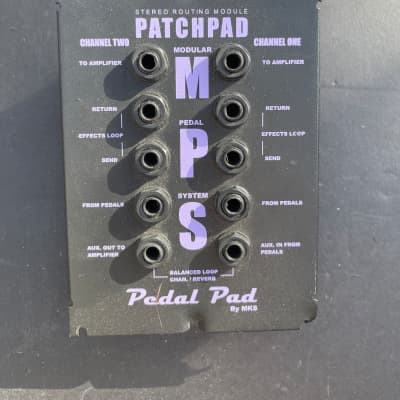 MKS Pedal Pad  PatchPad (Patch Pad - Pedal Board Router)