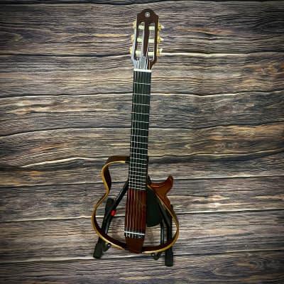 Yamaha  SLG200S Steel String Silent Acoustic-Electric Guitar Tobacco Sunburst