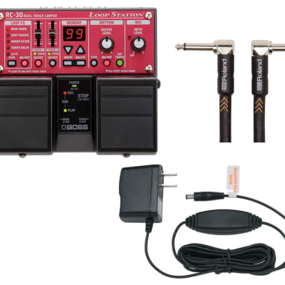 Boss RC-30 Loop Station + Roland PSA-120S + Boss BIC-10A Cable for sale
