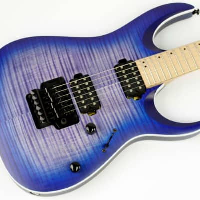 Ibanez RGA series RGAR42MFMT Electric Guitar Flat Blue Lagoon, Ex #ISS7228 for sale