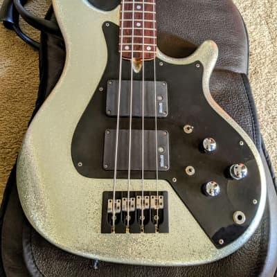Enfield Lionheart Custom Shop bass Silver Sparkle 2014 for sale
