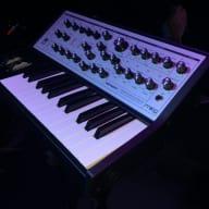 Moog Sub Phatty 2017 with Moog road case