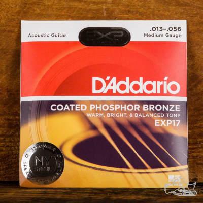 D'Addario 13-56 Phosphor Bronze Acoustic Guitar Strings - EXP17