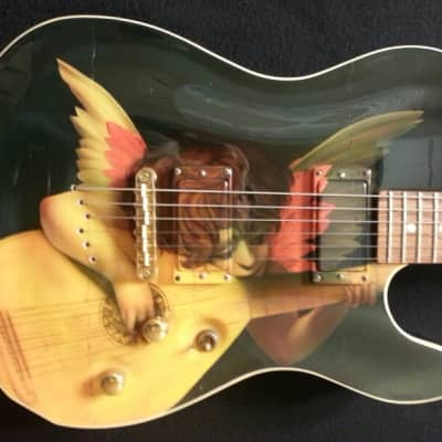 Schecter USA PT Custom 1997 Angel/Lute graphics NOS Mint! for sale