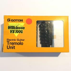 Gotoh VS-100G B Wilkinson Tremolo Unit Black 80's black for sale