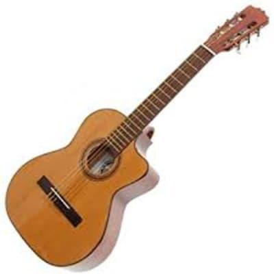 Paracho Elite Guitars Gonzales 6 String Requinto Natural for sale