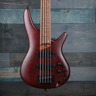 Ibanez SR505E 5-String Electric Bass - Brown Mahogany for sale