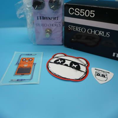 Maxon CS505 Stereo Chorus w/Original Box   Fast Shipping!