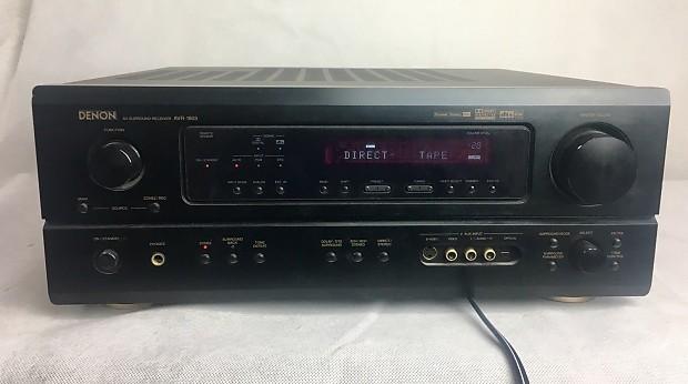 Denon AVR-1803 Surround Sound Home Theater Receiver