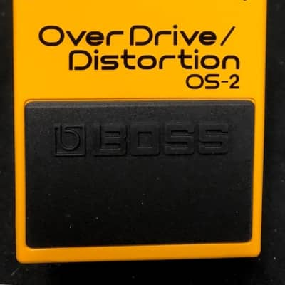 Boss OS-2 Overdrive/Distortion Guitar Effects Pedal Authorized Dealer