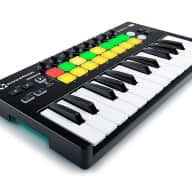 Novation Launchkey Mini 25-Note USB Keyboard Controller for Ableton Live, MK2 Version