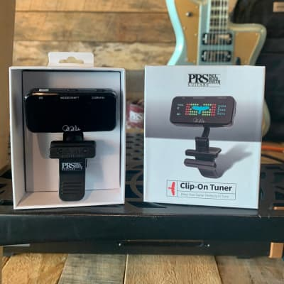 PRS Paul Reed Smith Headstock Rechargeable Clip-On Tuner