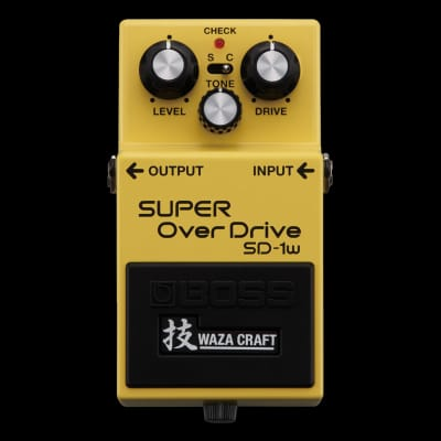 Boss SD-1W Waza Craft Special Edition Super Overdrive (Repack)