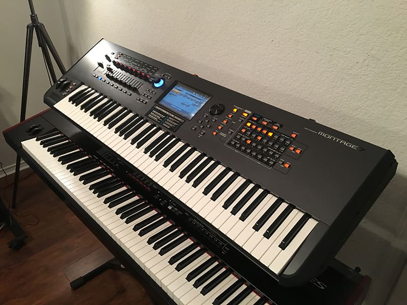 yamaha montage 7 synthesizer erskine 39 s shop reverb. Black Bedroom Furniture Sets. Home Design Ideas