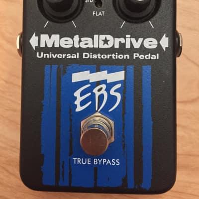 EBS MetalDrive Bass Distortion Black/Blue