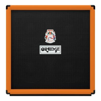 "Orange OBC410 8 Ohms 4x10"" 600 Watt Bass Speaker Cabinet"