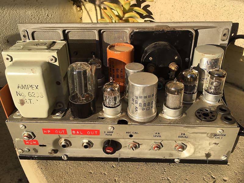 Ampex 601 Vintage Tube Pre Amp w Input Transformer, DAW Ready