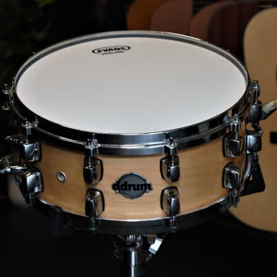 DDrum 14x6,5 Maple Snare Maple Gloss