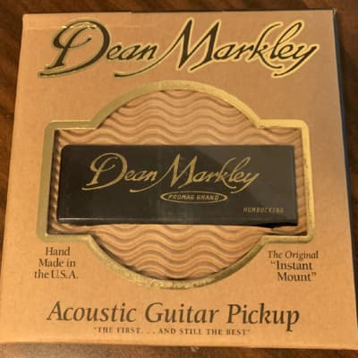 Dean Markley ProMag Grand Acoustic Guitar Pickup 3015, NEW in Box ! for sale