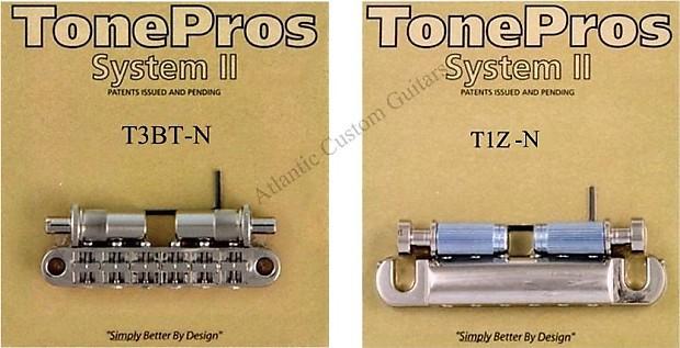 TonePros METRIC Pre-Notched Tuneomatic Bridge & Tailpiece | Reverb