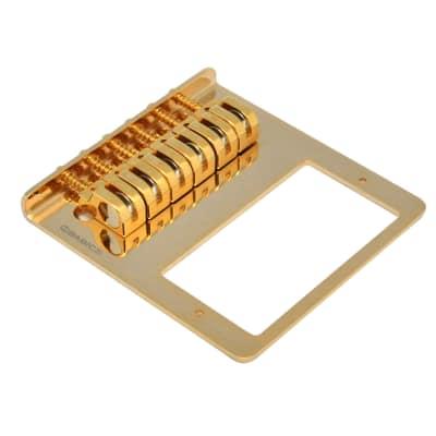 Babicz Full Contact Hardware Z Series Tele Humbucker Bridge, Gold for sale
