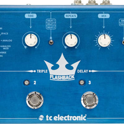 TC Electronic Flashback Triple Delay Guitar Effects Pedal for sale
