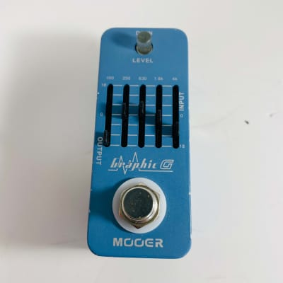 Mooer Graphic G Five-Band Equalizer *Sustainably Shipped*