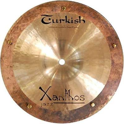 "Turkish Cymbals 9"" Xanthos Jazz Reverse Bell Sizzle Splash"