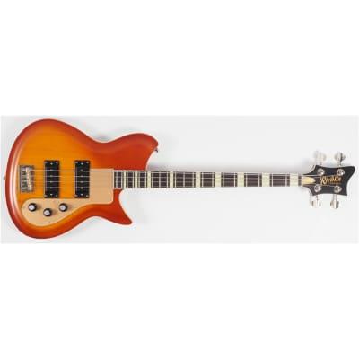 Rivolta Combinata Bass VII 2020, Autunno Burst for sale