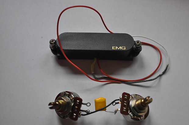 Enjoyable Vintage Emg Sa Single Coil Guitar Pick Up And Wiring Harness Reverb Wiring Digital Resources Cettecompassionincorg