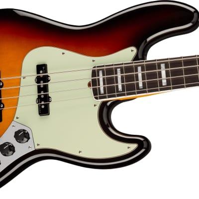 Fender American Ultra Jazz Electric Bass, Rosewood Fingerboard, Ultraburst W/Case for sale