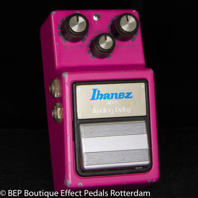 Ibanez AD-9 Analog Delay 1982 Japan s/n 218823, MN3205 chip and JRC4558D op amp