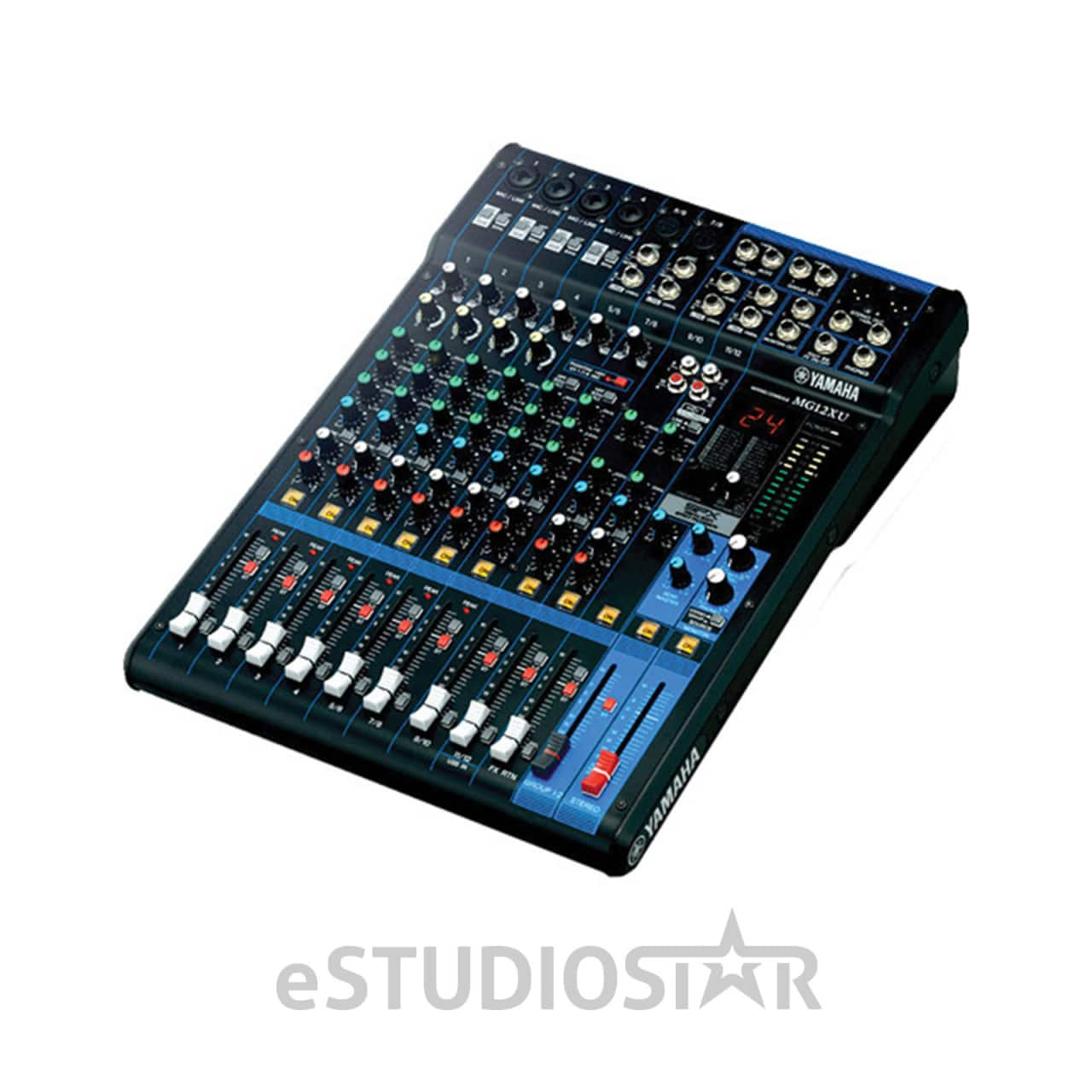 yamaha mg12xu 12 input mixer with built in fx and reverb. Black Bedroom Furniture Sets. Home Design Ideas