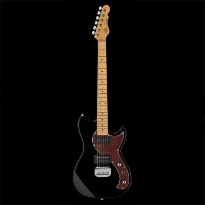 G&L Tribute Fallout 6-String Mahogany Electric Guitar Maple Board Gloss Black for sale